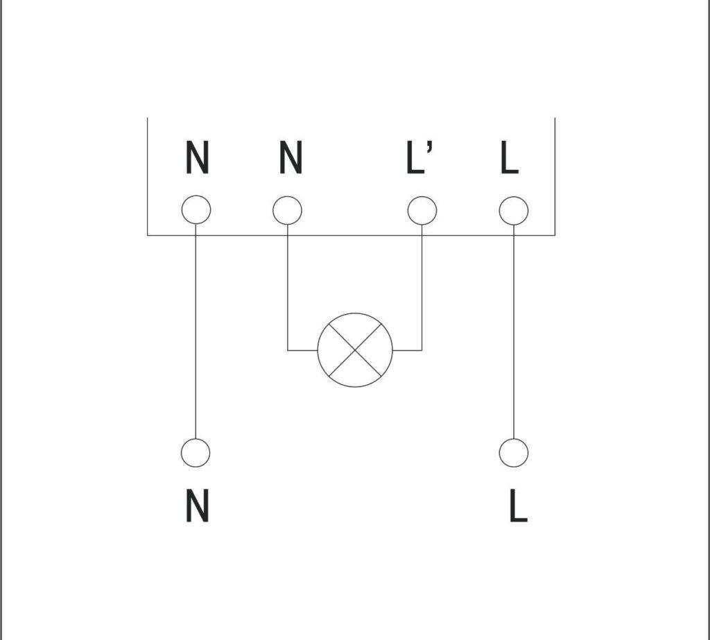 Схема подключения проходная