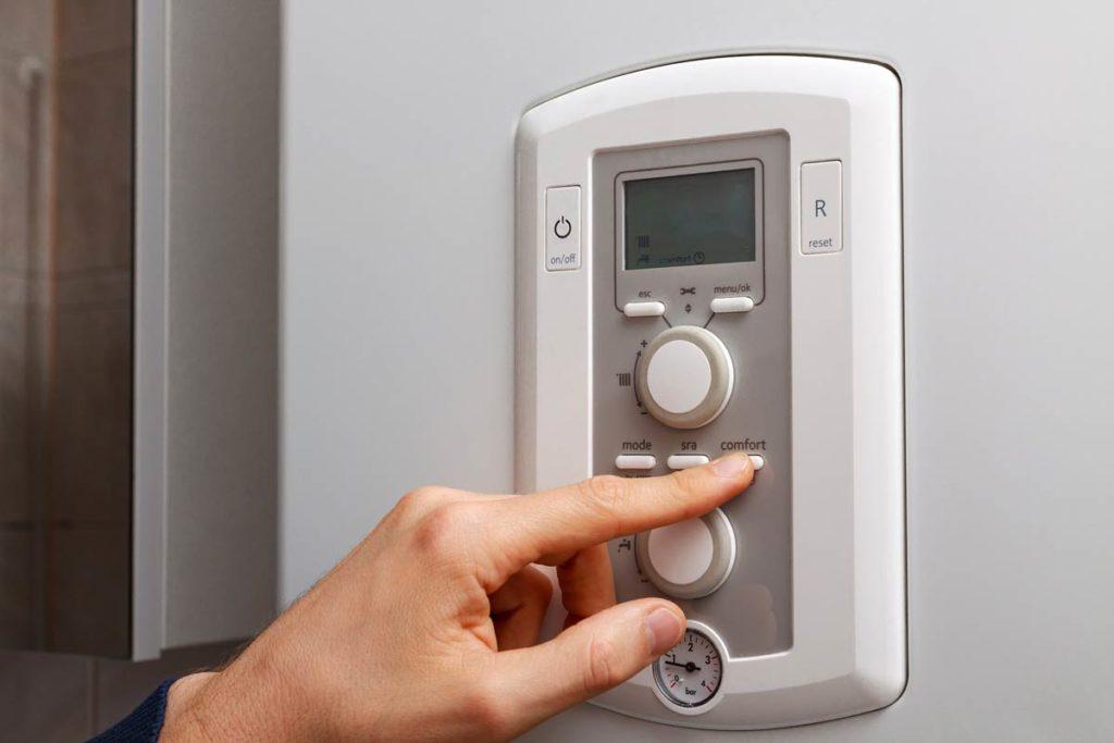 Регулировка температуры на газовом котле