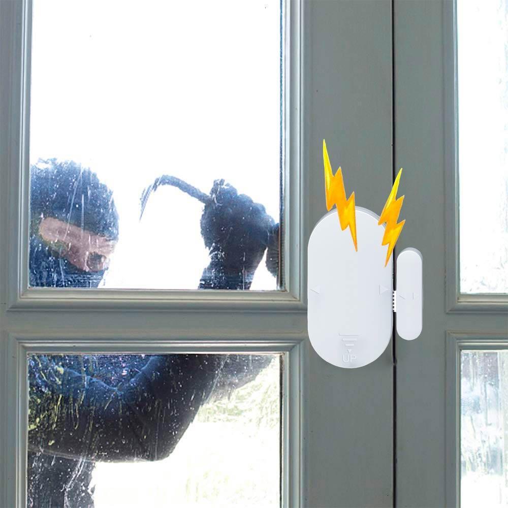 Герконовый датчик на окна, охрана