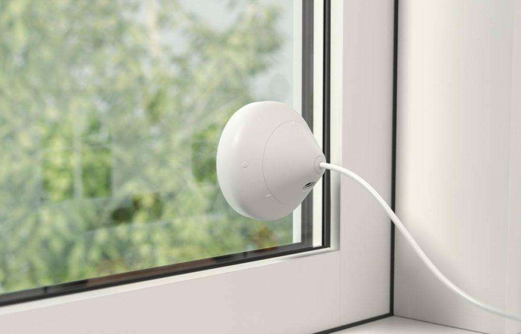 Вибрационный датчик защиты окна