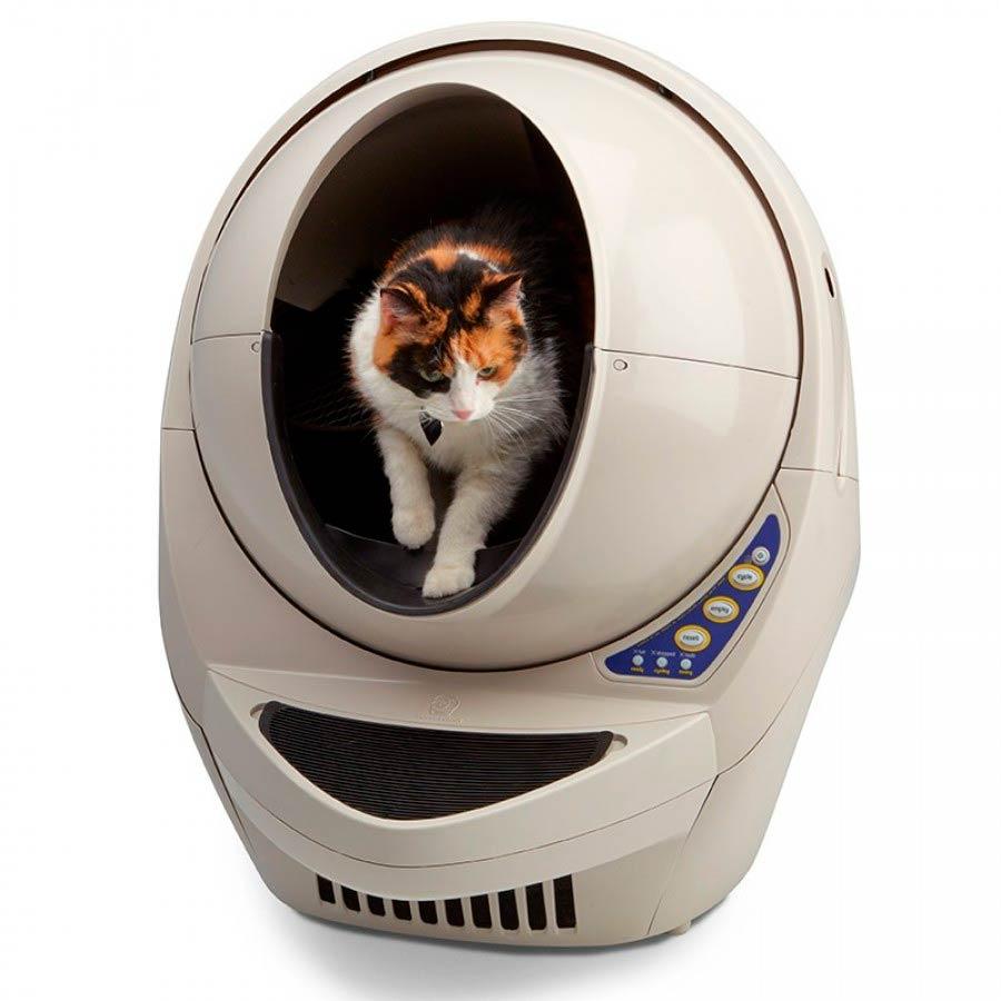 Кошачий умный туалет