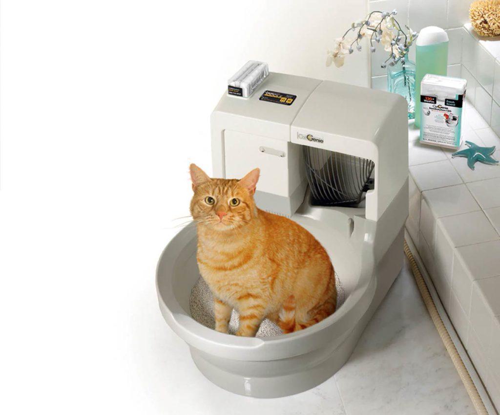 CatGenie умный лоток для кошек