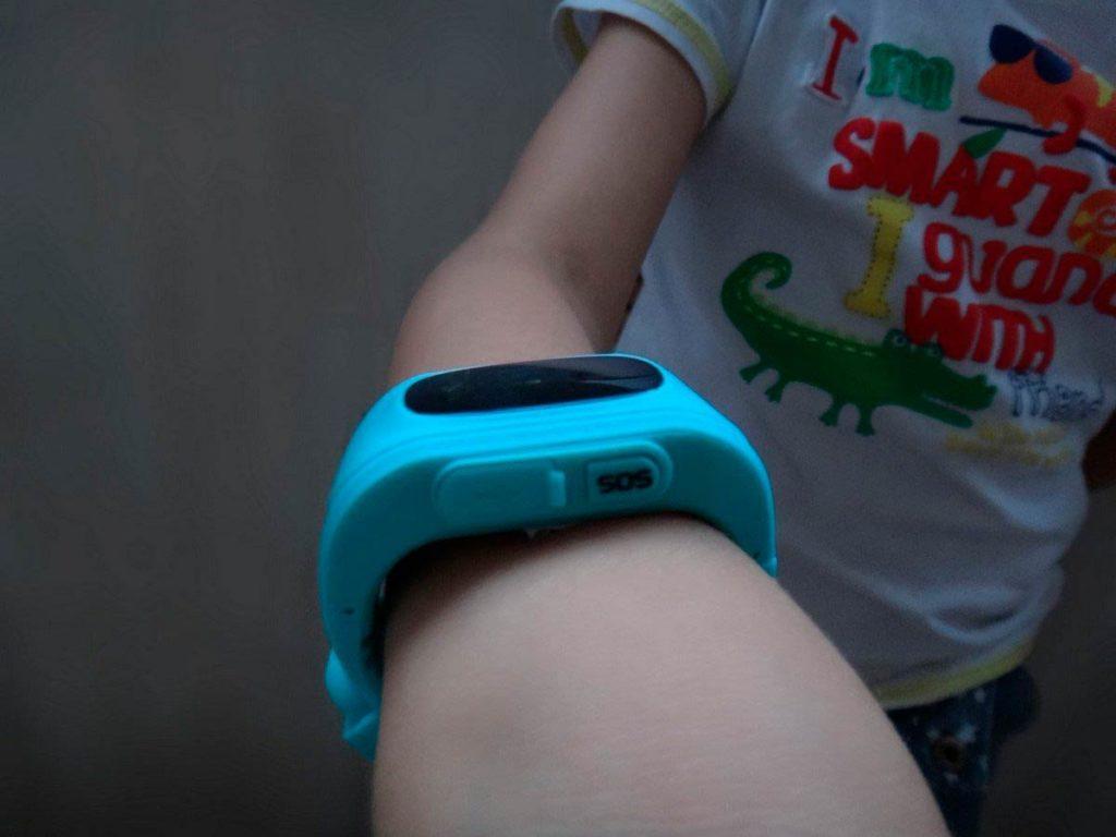 SOS на детских умных часах