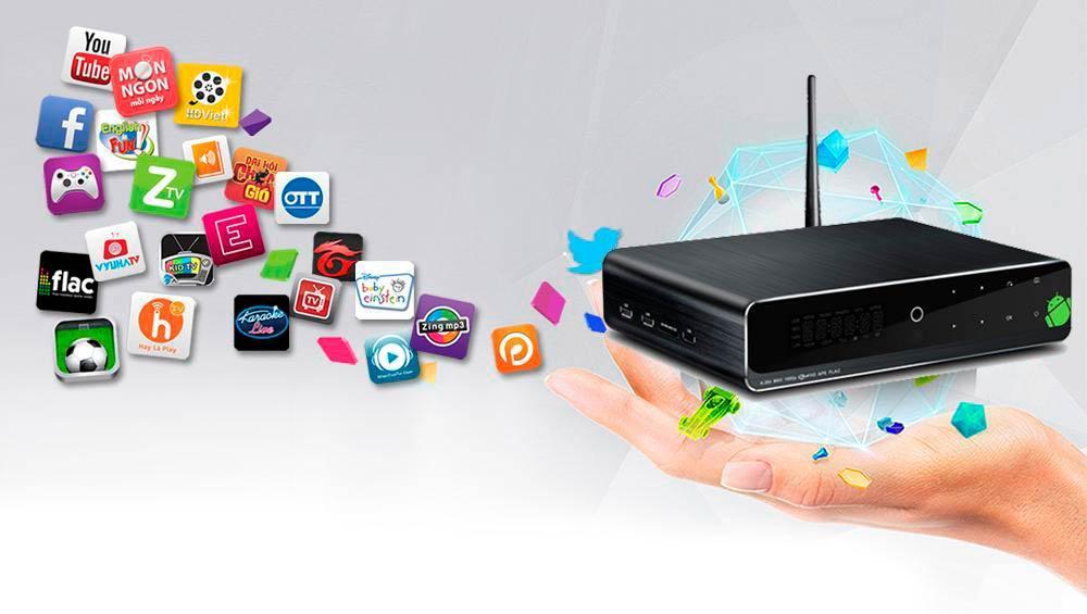 смарт ТВ приставка на андроид
