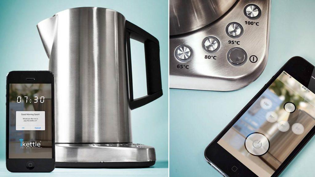 Смарт чайник с управлением со смартфона