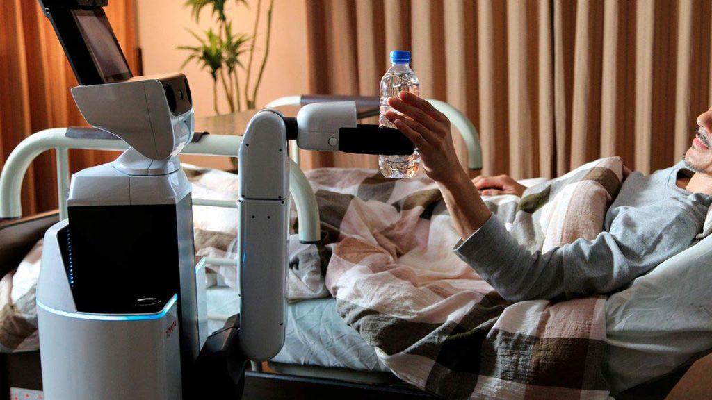 робот для ухода за пожилыми и инвалидами