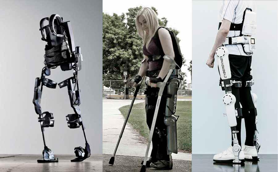 Экзоскелет для инвалида