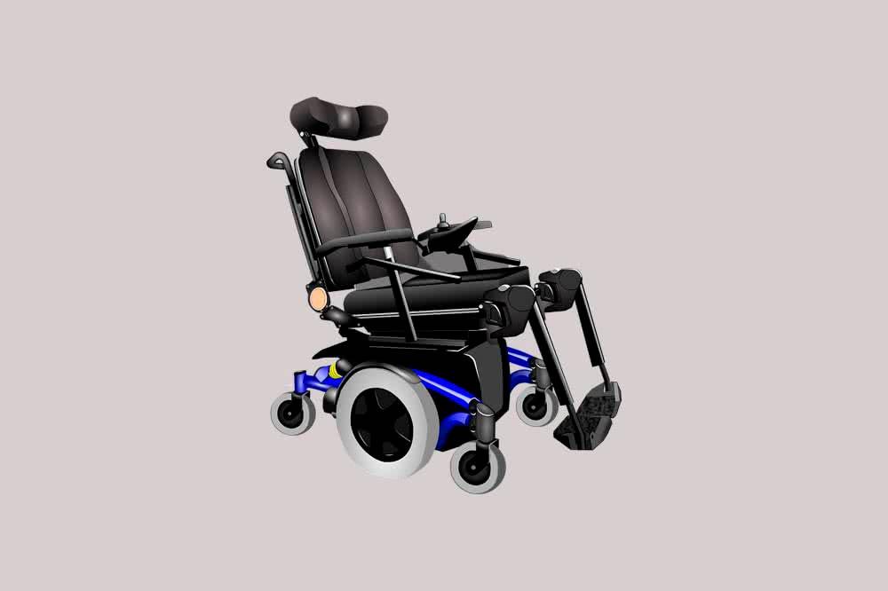Умная коляска для инвалидов