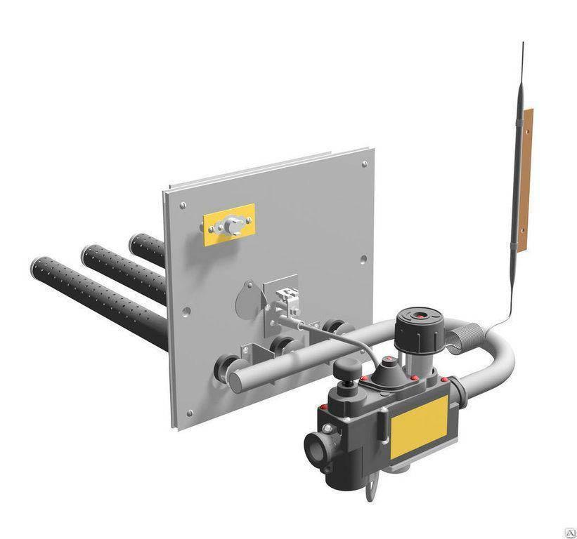 Газовая горелка для бани с автоматикой