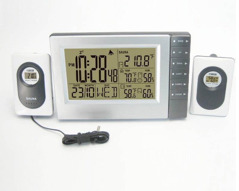 Термогигрометр с проводом, датчиком
